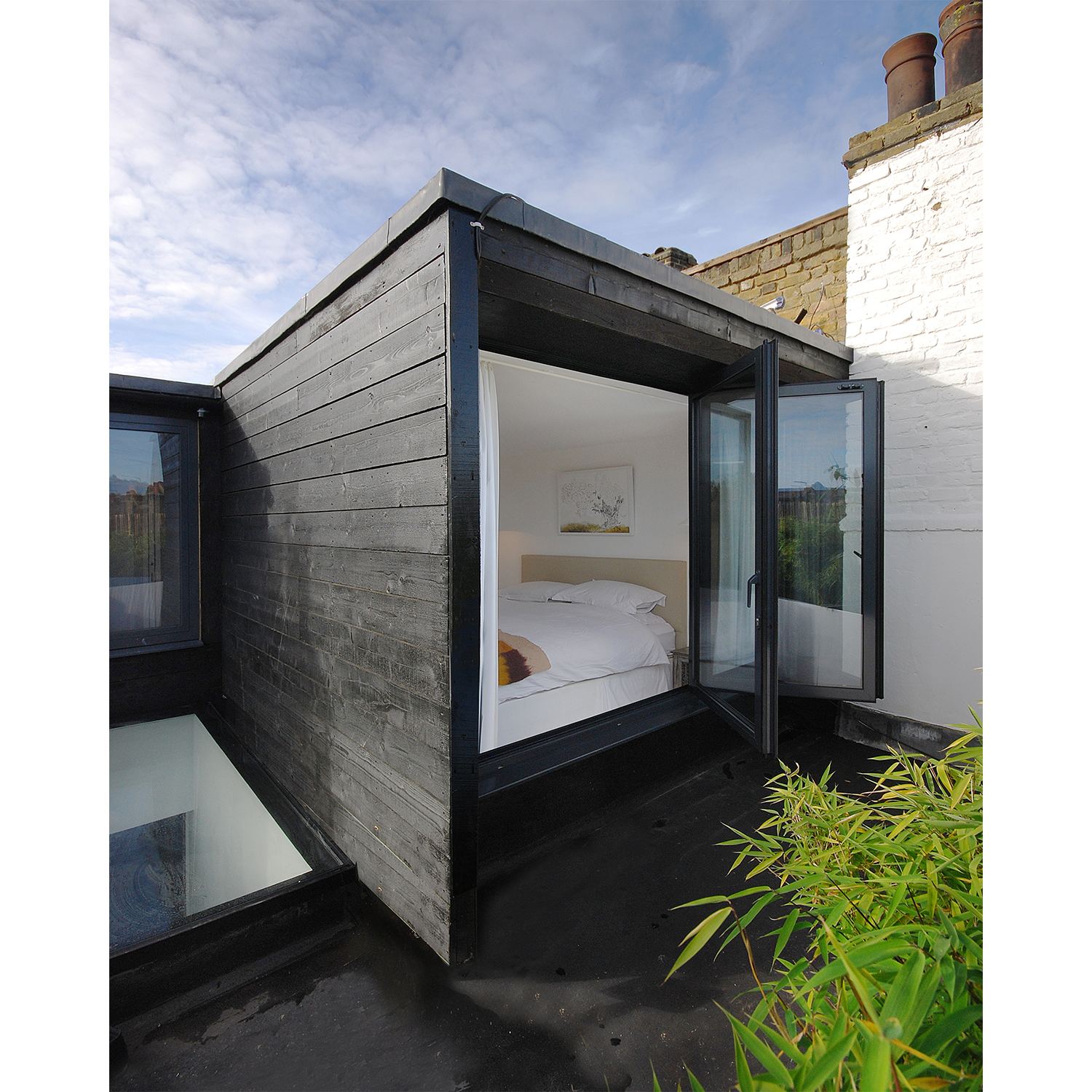 Latimer Road. Covered in Grand Designs Magazine as part of a feature on innovative loft extensions